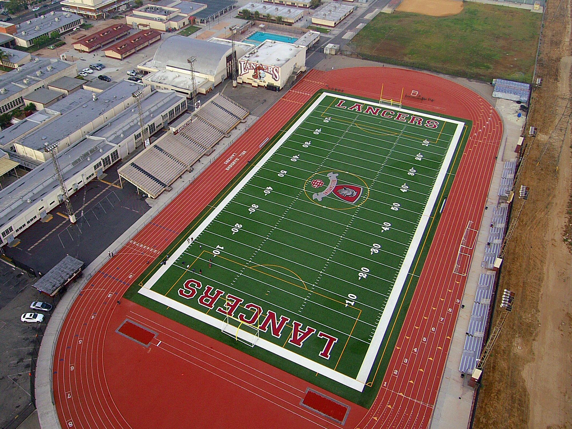 Bell Gardens High School Athletic Field Engineering